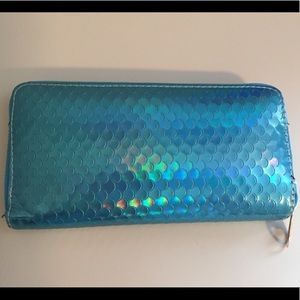 Iridescent Fish-Scale Wallet